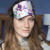 tephieAnn Anemone silk eye mask