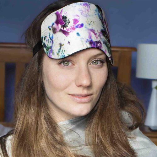 StephieAnn Anemone silk eye mask