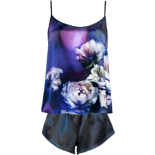 StephieAnn silk camisole and shorts