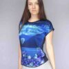StephieAnn Luna Silk Top