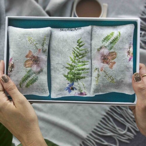 StephieAnn Elderflower lavender bags gift set