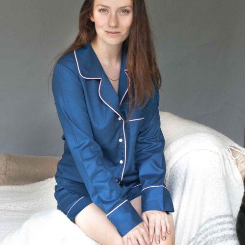 Pyjama shirt and shorts set by StephieAnn