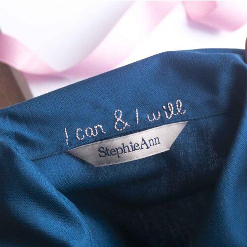 StephieAnn Embroidered Pyjamas