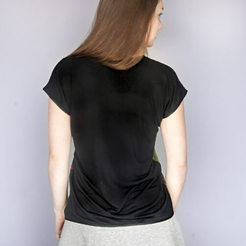 T-shirt Back Black StephieAnn