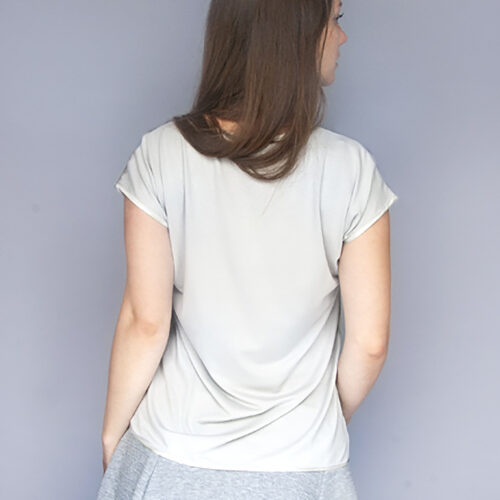 StephieAnn T-shirt back made in Britain