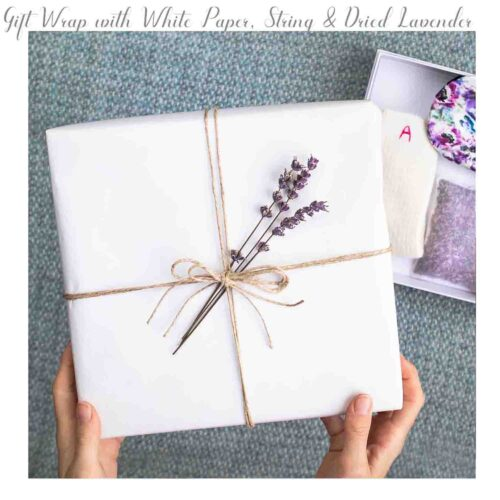 StephieAnn gift box with dried lavender