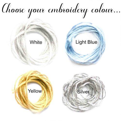 StephieAnn Men's embroidery colours