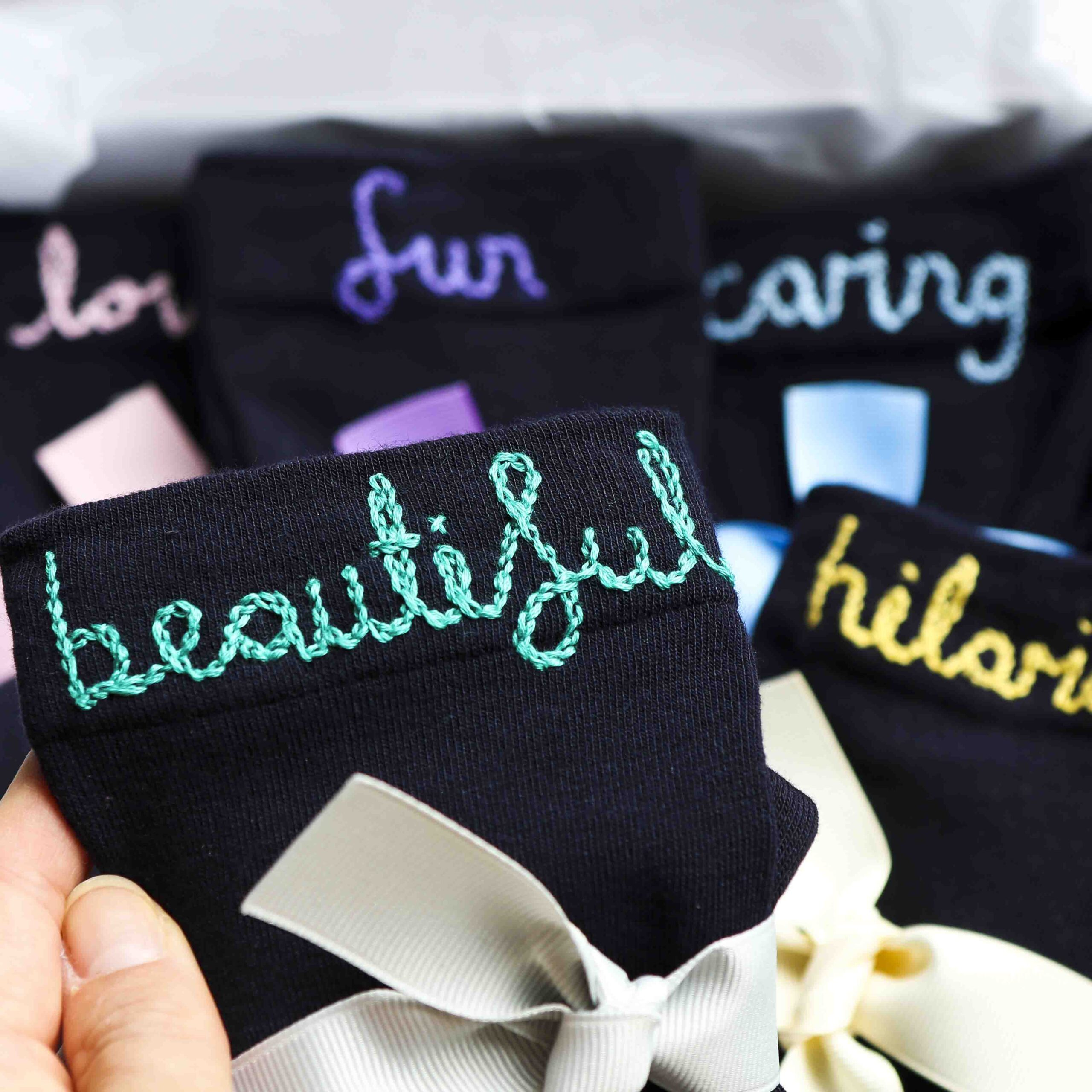 Personalised socks for women StephieAnn
