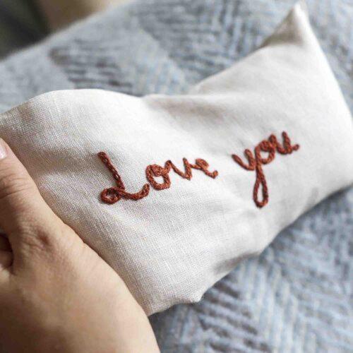 Embroidered heat bag StephieAnn