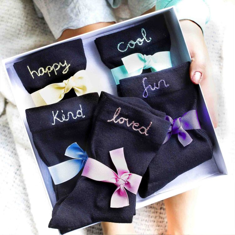 StephieAnn Affirmation Sock Gift Set
