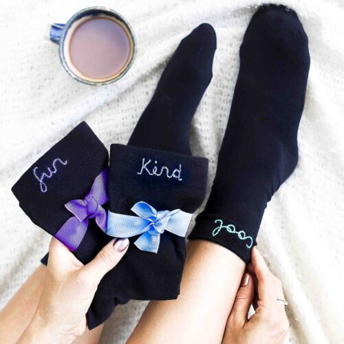 StephieAnn Affirmation Sock Gift Set for me and women