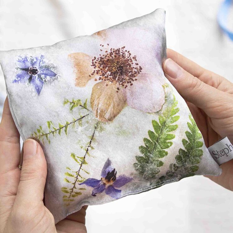 StephieAnn Elderflower Lavender Bag