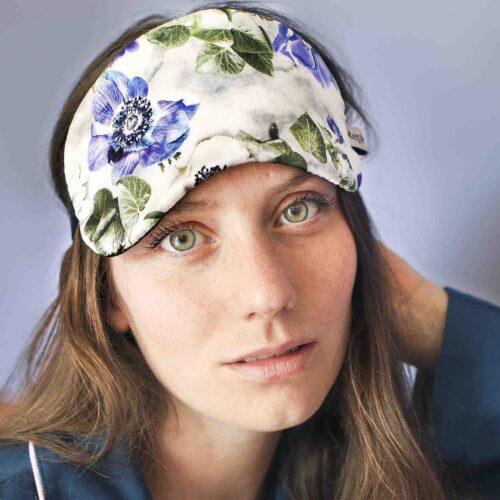 StephieAnn Ivy Silk Eye Mask