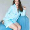 StephieAnn Light Blue Organic Cotton pyjamas