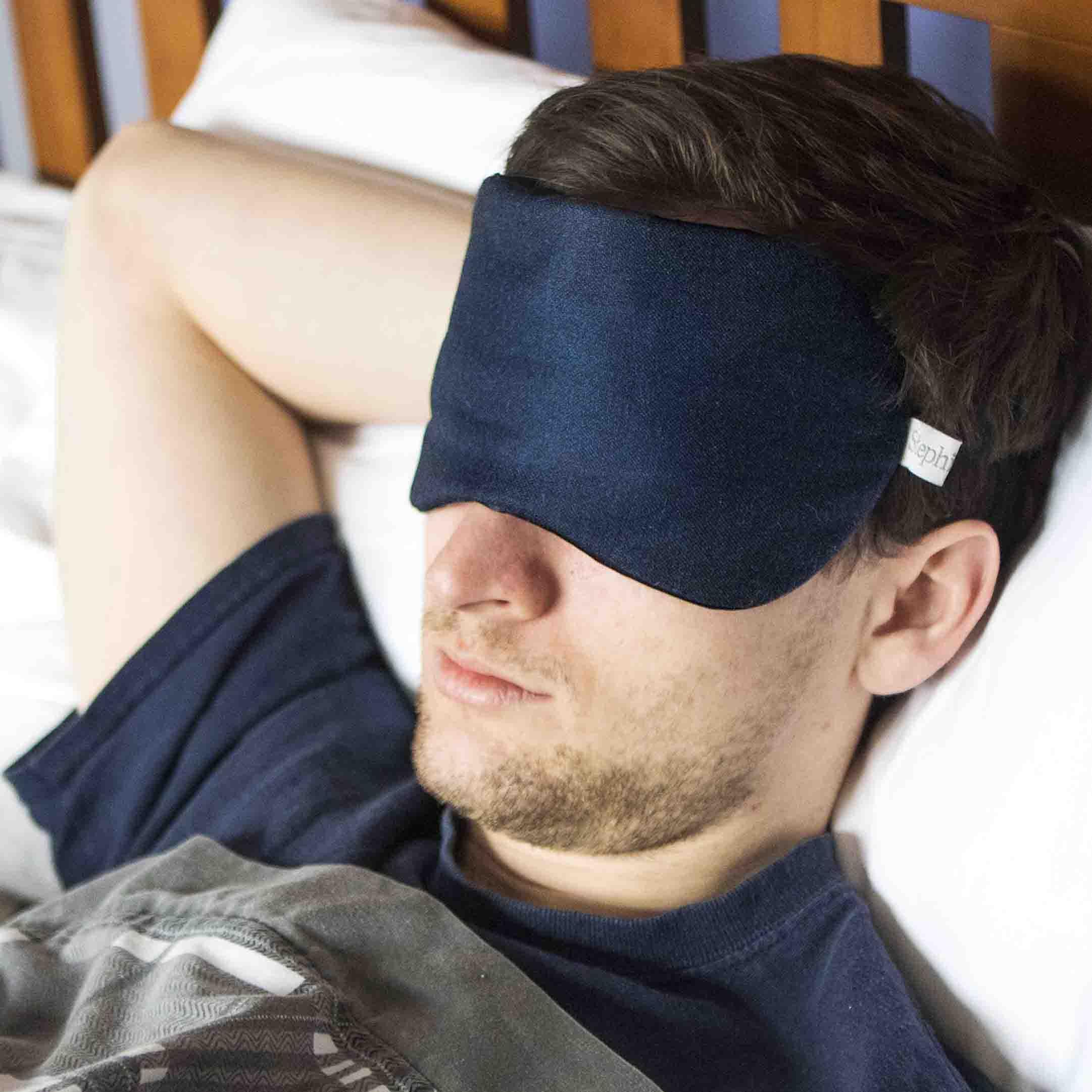 StephieAnn Men's Silk Mask