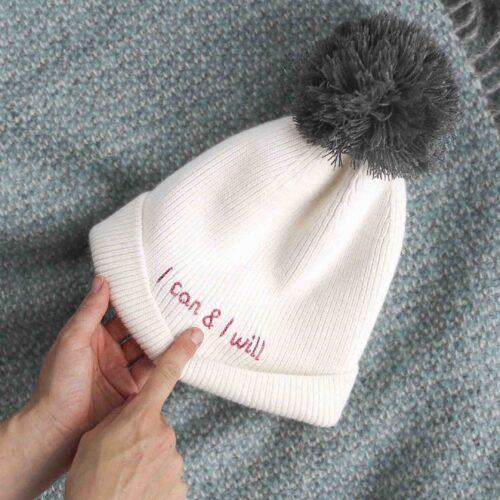 StephieAnn Secret Message Hat