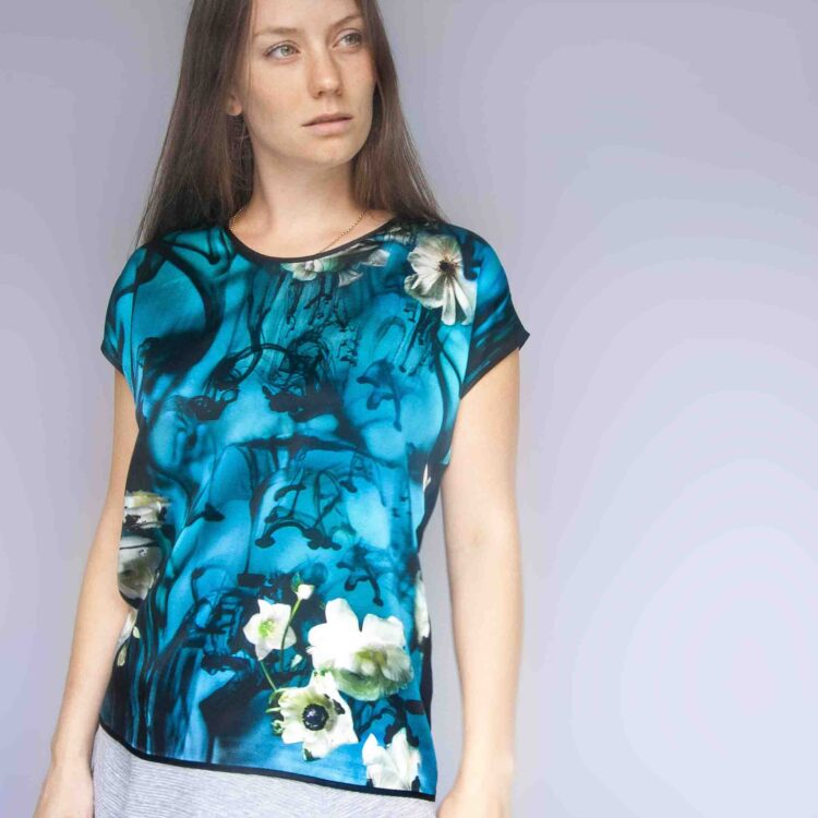 StephieAnn Water Silk Top