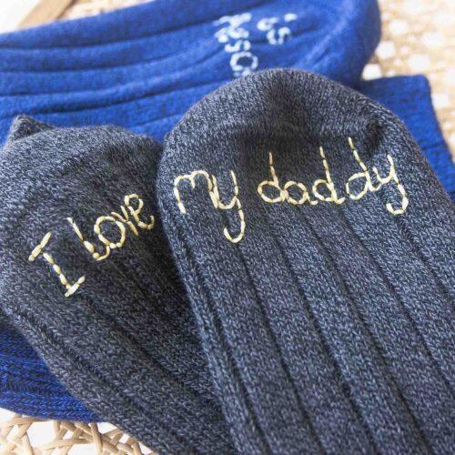Personalised men's walking socks by StephieAnn