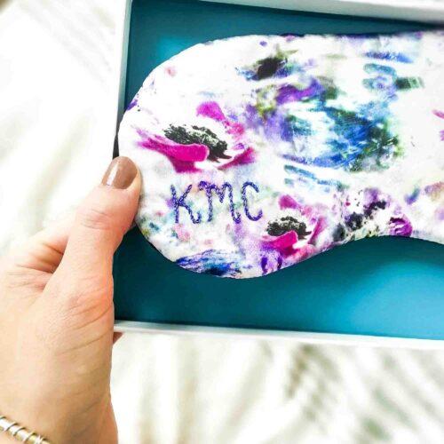 Personalised women's sleep mask by StephieAnn