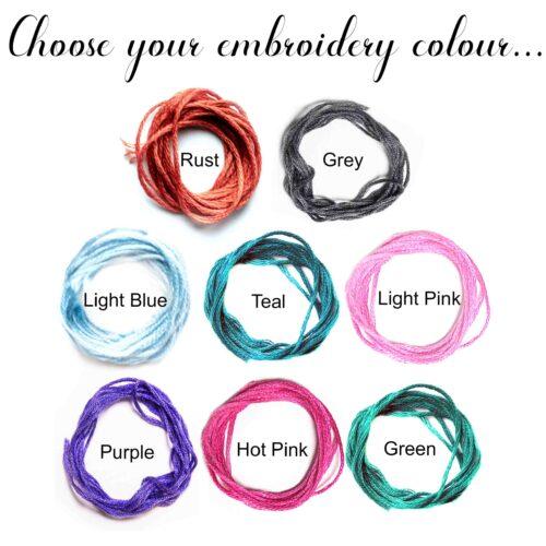 StephieAnn Embroidery Colours