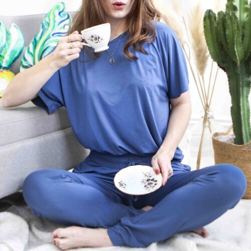 Embroidered Bamboo Loungewear by StephieAnn