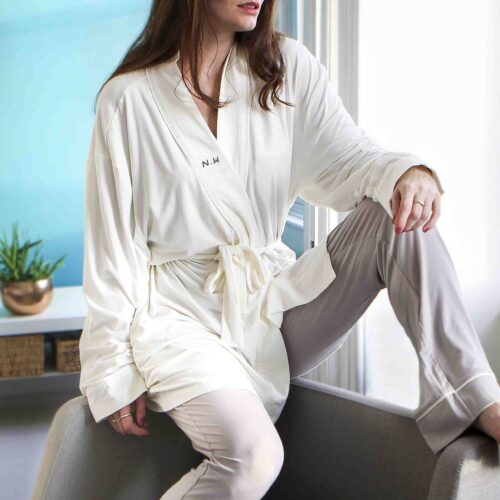 Personalised Robe and Pyjamas Gift Set