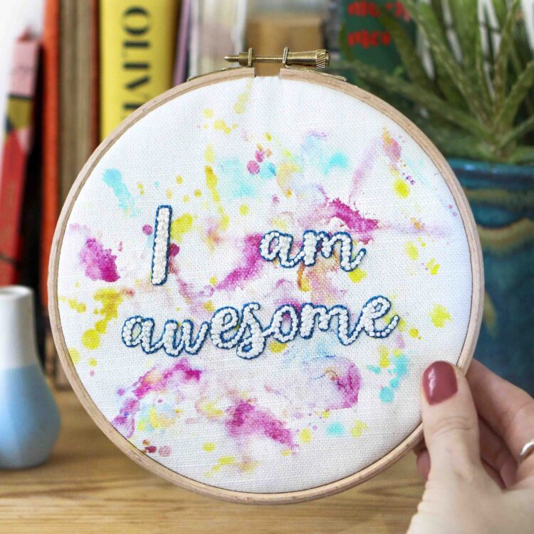 Awesome StephieAnn Embroidery Stitch Craft Kit