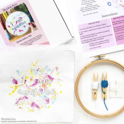 Awesome Embroidery Kit for Intermediates