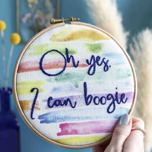 Boogie StephieAnn Embroidery Stitch Craft Kit