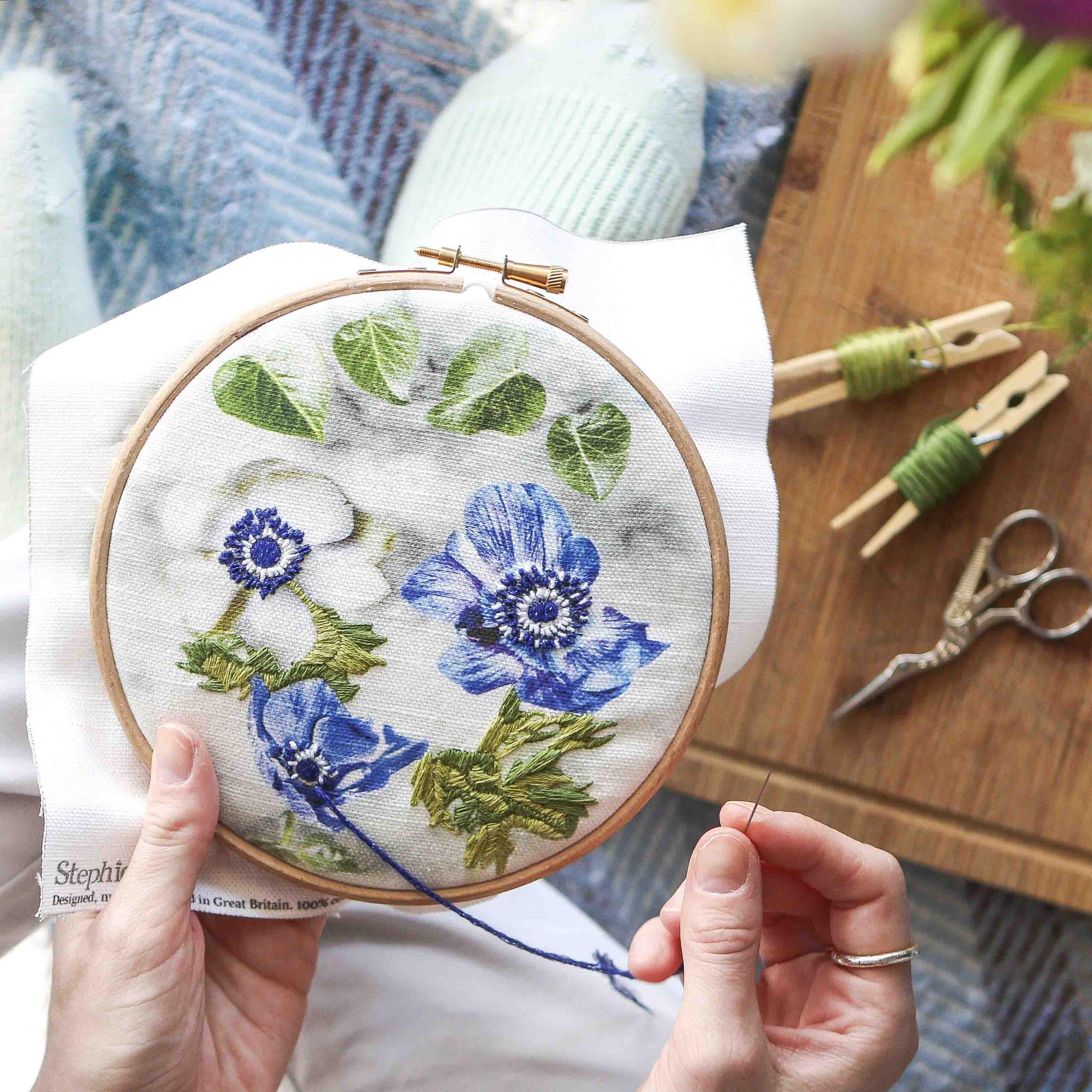 Floral Stitch Kit StephieAnn