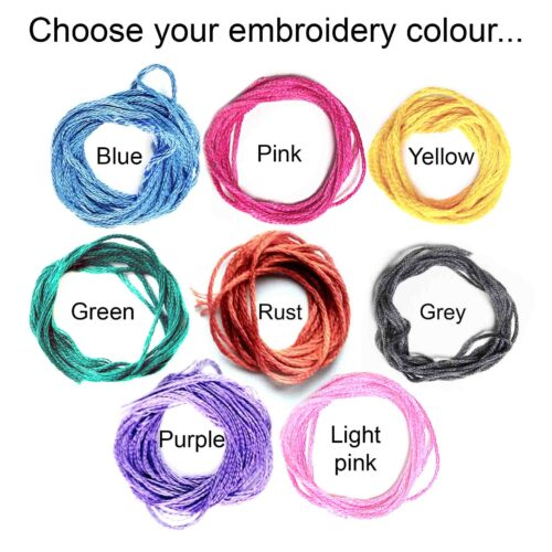StephieAnn Sweatshirt embroidery threads